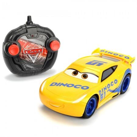 Masina Dickie Toys Cars 3 Turbo Racer Cruz Ramirez cu telecomanda