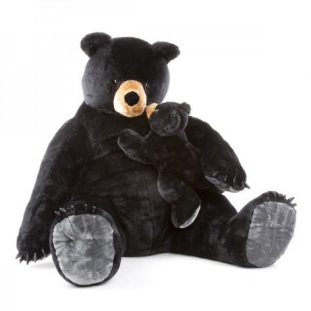 Urs negru gigant din plus - Melissa and Doug