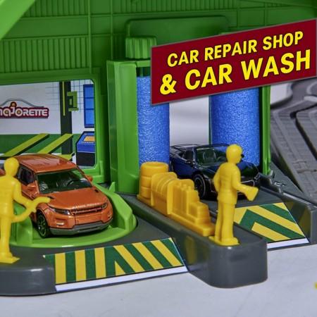 Pista de masini Majorette Super City Garage