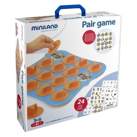 Joc de memorie Miniland 12 activitati